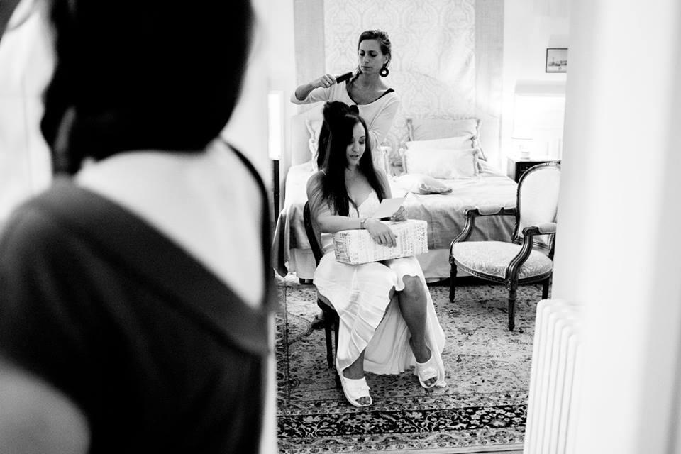 Coiffure à domicile pour un mariage en région bordelaise